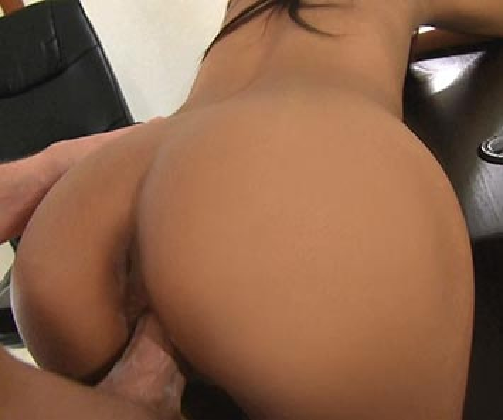 Tall and skinny thai girl on the casting couch